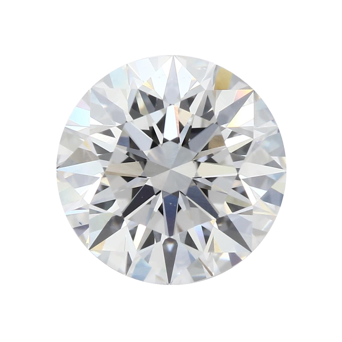 2.18 ct Round Lab Grown Diamond