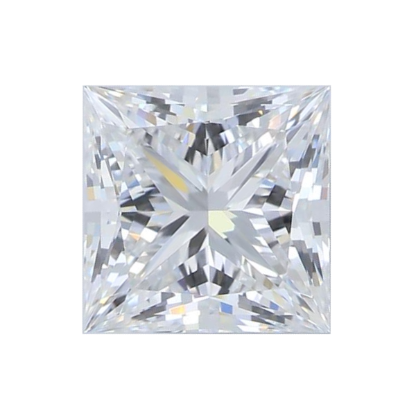 1.37 ct Princess Lab Grown Diamond