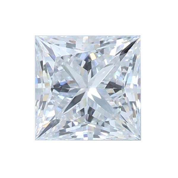 0.91 ct Princess Lab Grown Diamond