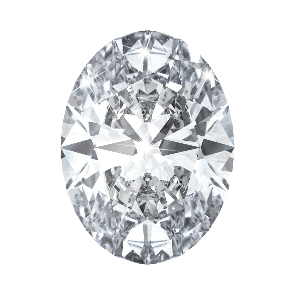 0.75 ct Oval Lab Grown Diamond