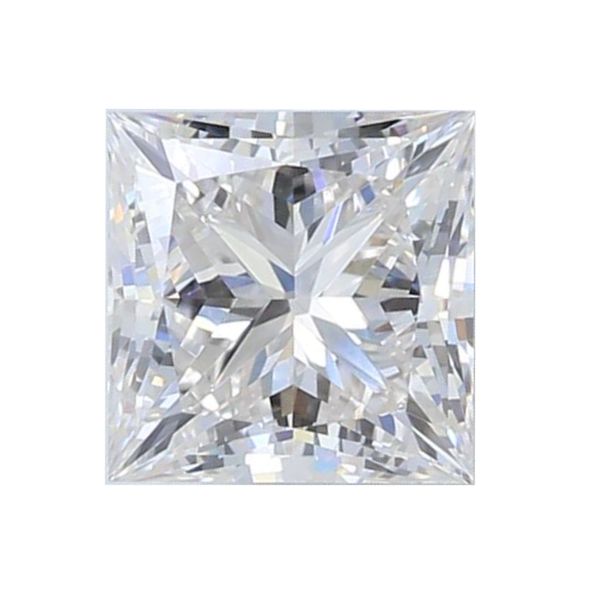 0.72 ct Princess Lab Grown Diamond