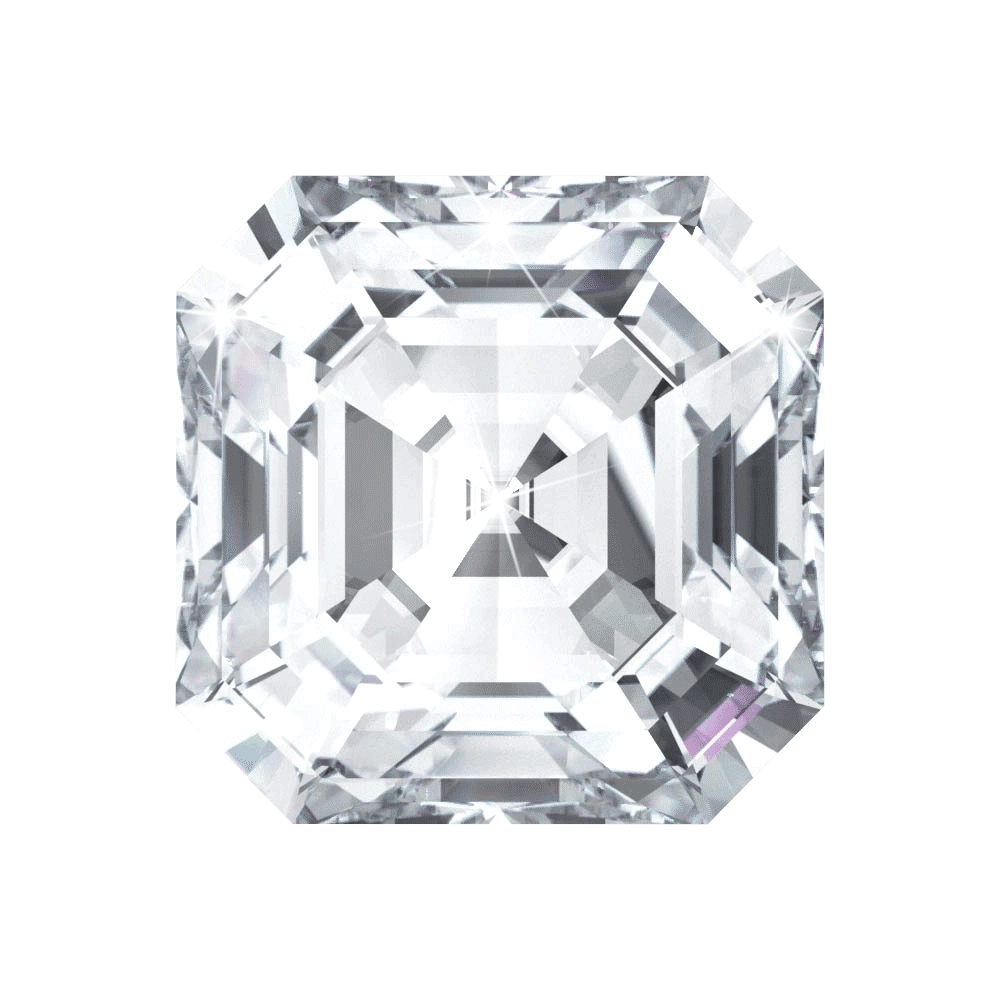 0.52 ct Asscher Lab Grown Diamond