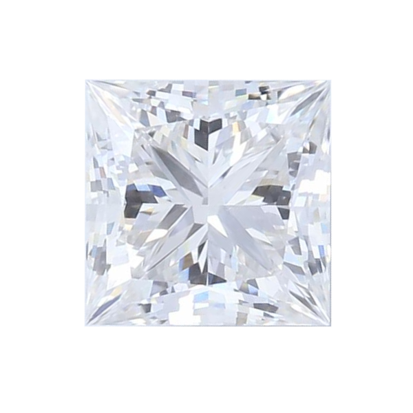 0.85 ct Princess Lab Grown Diamond