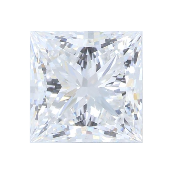 3.05 ct Princess Lab Grown Diamond