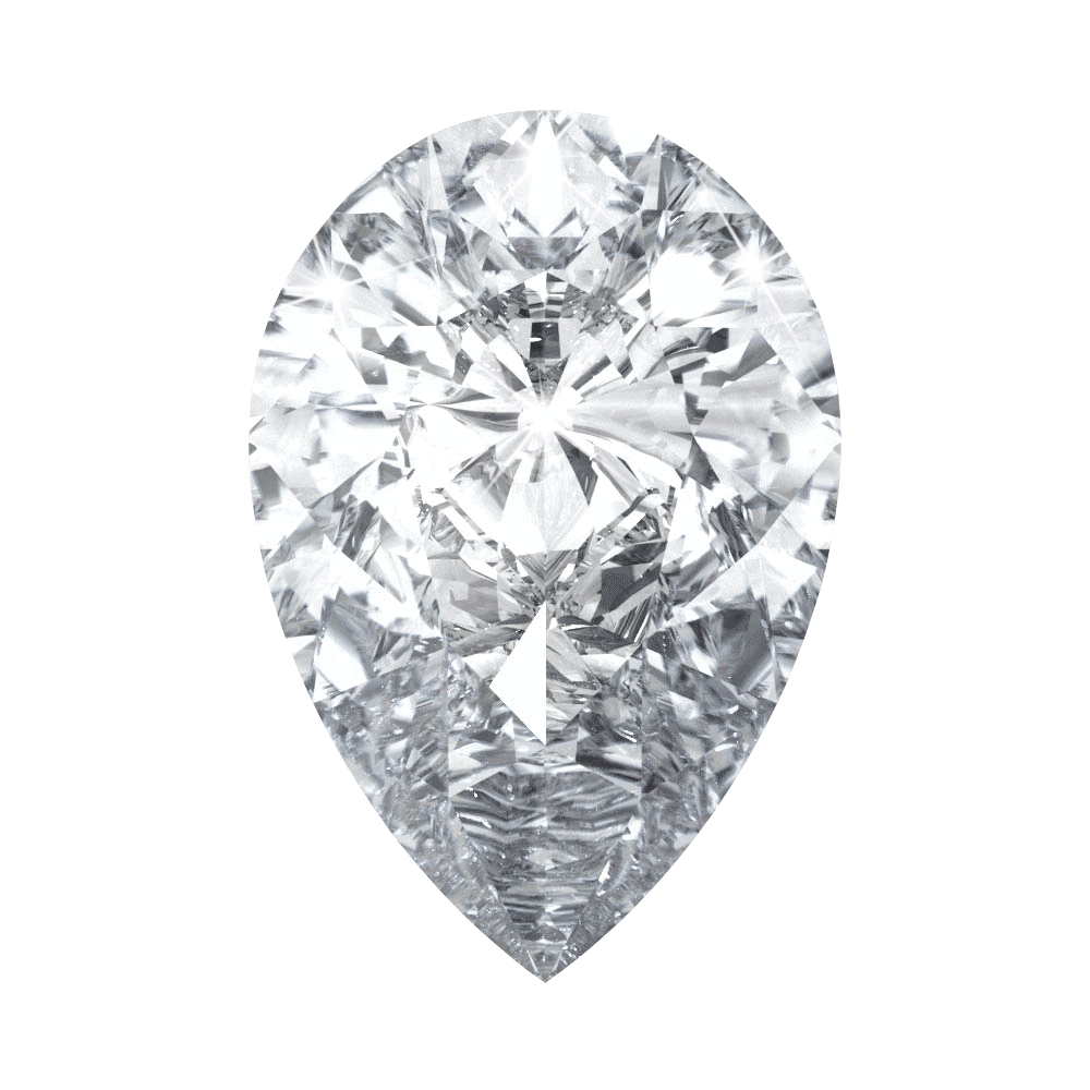 0.74 ct Pear Lab Grown Diamond
