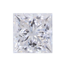 0.82 ct Princess Lab Grown Diamond